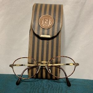 Fendi Accessories - Vintage Fendi Havana/Antique Frames
